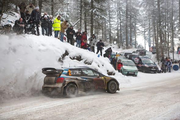 Jari-Matti Latvala (FIN), Miikka Anttila (FIN)Volkswagen Polo R WRC (2015)WRC Rally Monte Carlo 2015