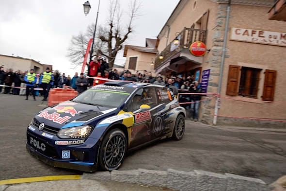 Andreas Mikkelsen (NOR), Ola Fløene (NOR)Volkswagen Polo R WRC (2015)WRC Rally Monte Carlo 2015