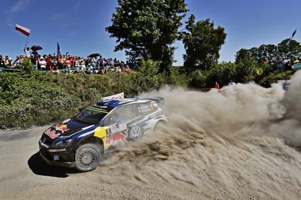 Sebastien Ogier (F), Julien Ingrassia (F)Volkswagen Polo R WRC (2015)WRC Rally Poland 2015