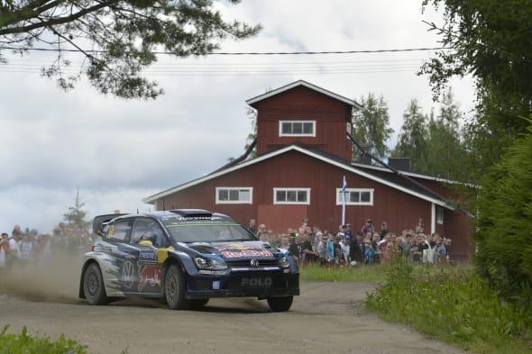 Andreas Mikkelsen (NOR), Ola Fløene (NOR)Volkswagen Polo R WRC (2015)WRC Rally Finland 2015
