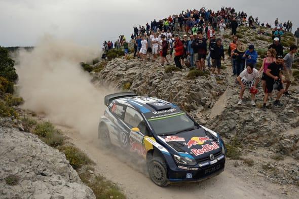 Andreas Mikkelsen (NOR), Ola Fløene (NOR)Volkswagen Polo R WRC (2015)WRC Rally Italia Sardegna 2015