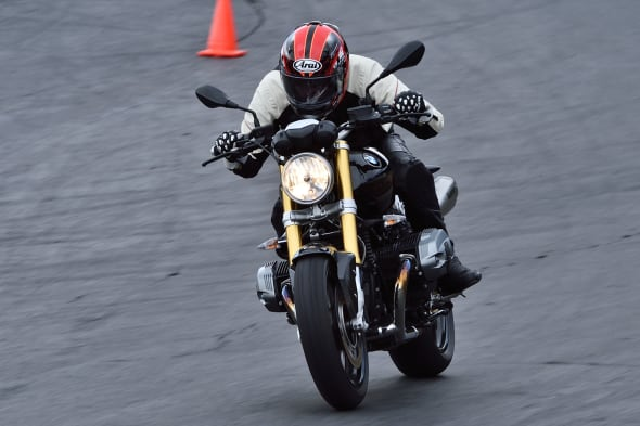 BMW Motored R nine T scrambler