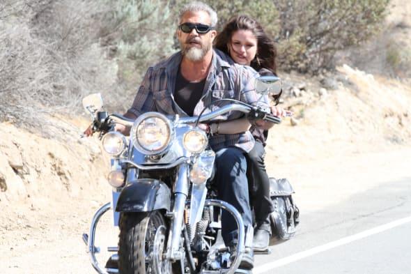BLOOD FATHER & Harley Davidson