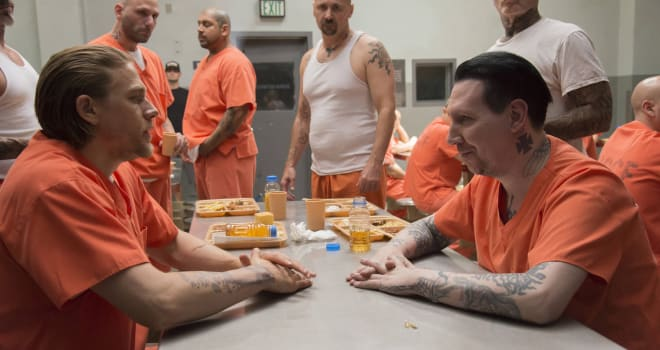 Sons of Anarchy, Charlie Hunnam, Marilyn Manson