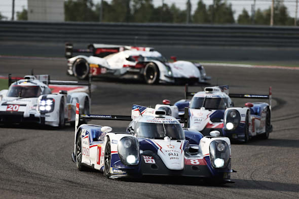 Toyota Hybrid RacingWorld Endurance Championship. 6 Hours of Bahrain. 12th-15th November 2014. Bahrain International Circuit, Bahrain.