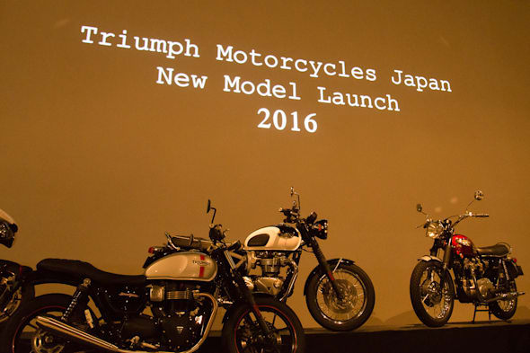 TRIUMPH  press conference Jan,2016
