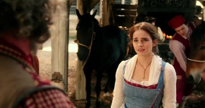 belle, beauty and the beast, emma watson, song, sing, singing, sings