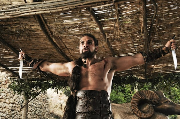 Khal Drogo, played by Jason