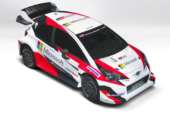 TOYOTA Microsoft WRC