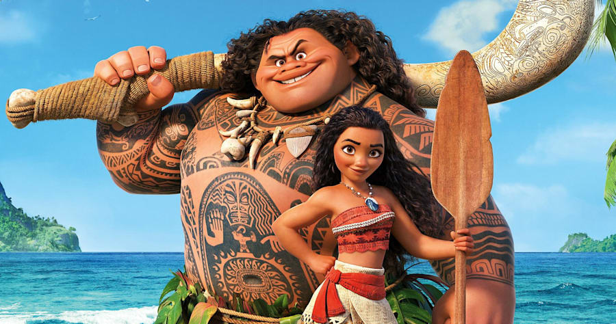 Disney's Moana on Netflix