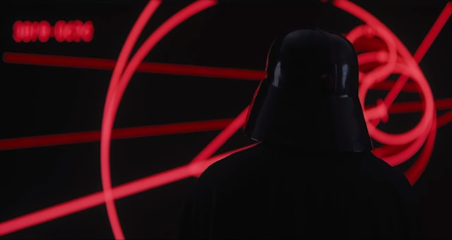 darth vader, james earl jones, star wars, rogue one, trailer