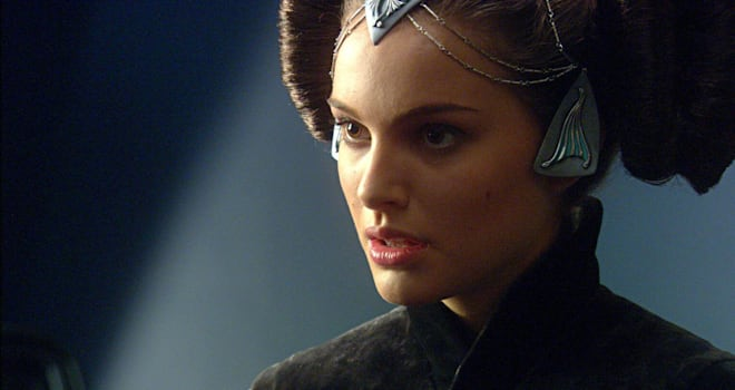 natalie portman as padme in star wars