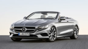 Mercedes S-Class cabriolet