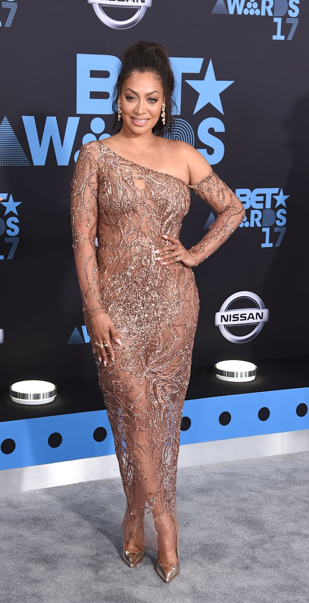 La La Anthony at the 2017 BET Awards at Staples Center on June 25, 2017 in Los Angeles, California. (Photo...