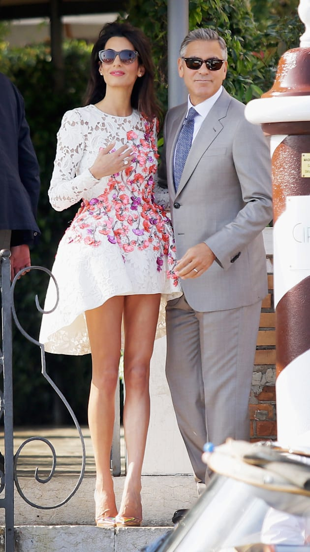 George Clooney and Amal Alamuddin are the most gorgeous newlyweds...ever