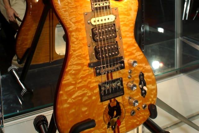 Gerry Garcia's Wolf guitar