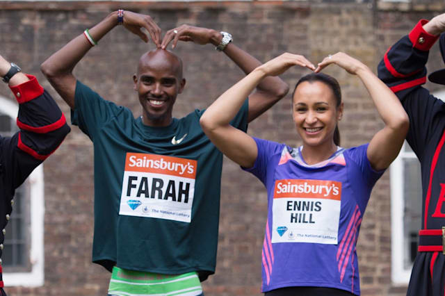 Athletics - Sainsbury's Anniversary Games - Mo Farah and Jessica Ennis-Hill Photocall and Press Conference