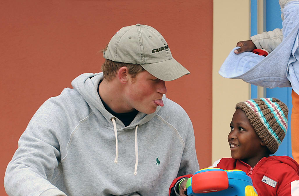 Prince Harry Visits Sentebale Project - Charity Visit Day 2