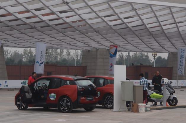 BMW i3 at Michelin Challenge Bibendum