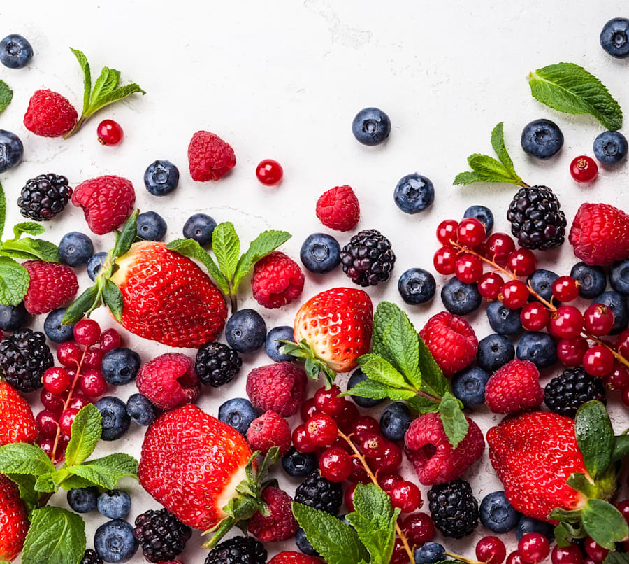 Aim for two serves of fruit each