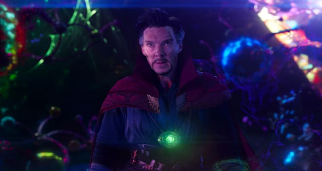 Benedict Cumberbatch as Dr. Stephen Strange in Marvel's DOCTOR STRANGE