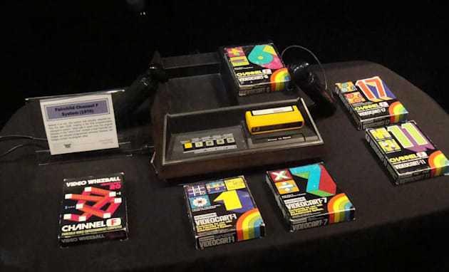 E3 2011 - Video Game Museum - Fairchild Channel F System