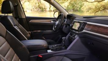 VW Atlas front seats