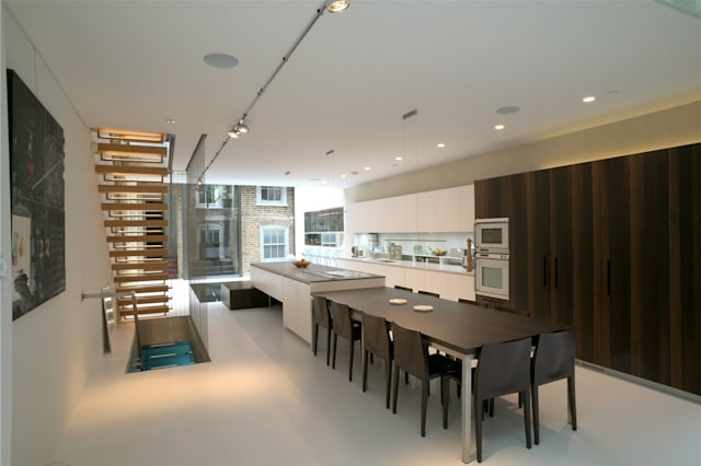 Kitchen of a house in Clerkenwell