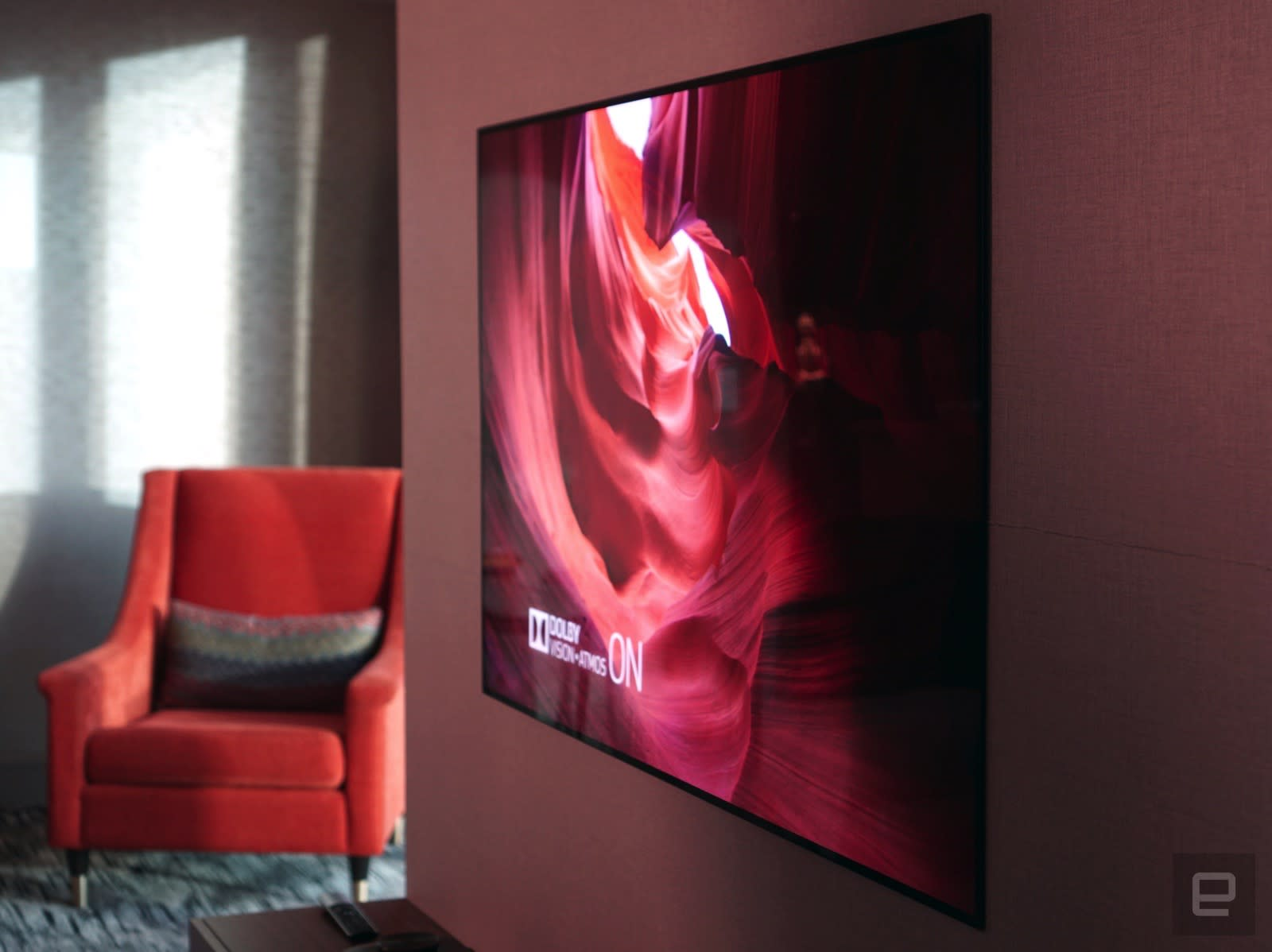 LG's new OLED TVs are so thin they have to be wall mounted