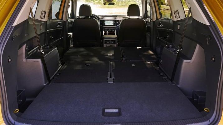 VW Atlas cargo area