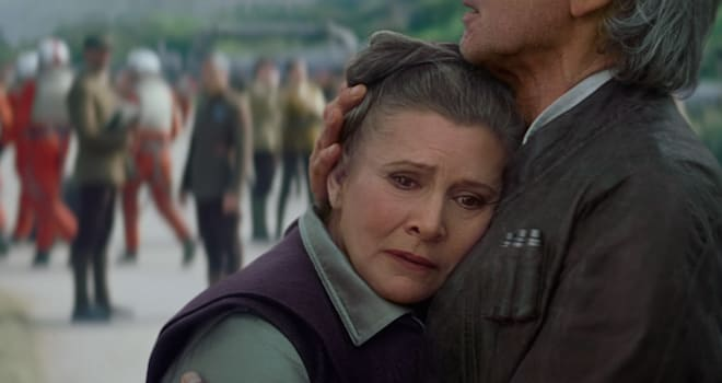 leia, princess leia, general organa, carrie fisher, star wars, episode 8, episode 9