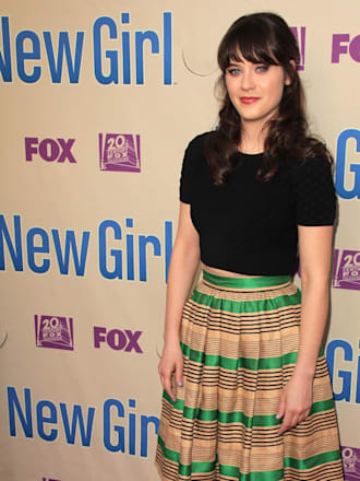 "zooey deschanel at the ""new..."