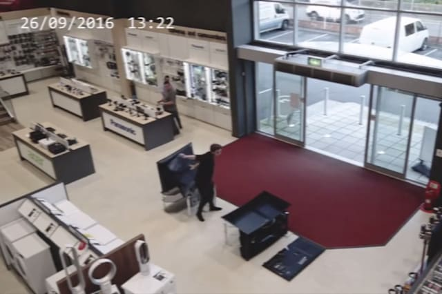 Man causes £5,000 of damage in five seconds