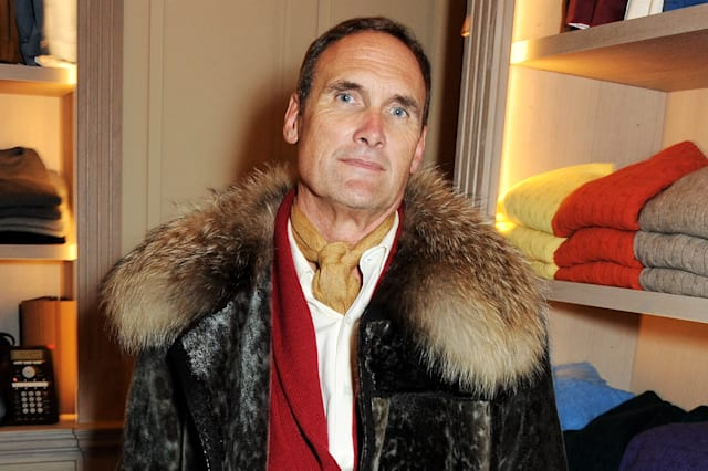 A.A. Gill Hosts Eggert Feldskeri Collection Launch At Anderson & Sheppard