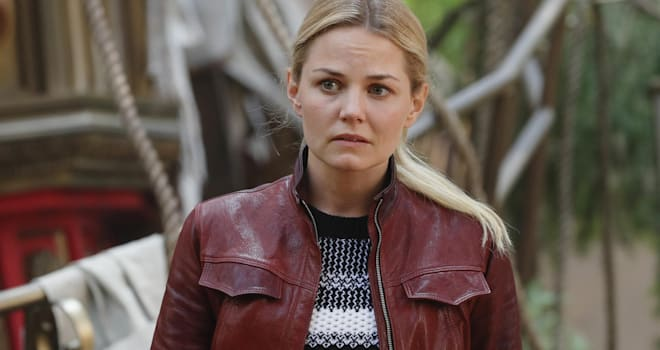 "ONCE UPON A TIME - ""The Savior"" - As ""Once Upon a Time"" returns to ABC for its sixth season, SUNDAY, SEPTEMBER 25 (8:00-9:00 p.m. EDT), on the ABC Television Network, so does its classic villain-the Evil Queen. (ABC/Jack Rowand)JENNIFER MORRISON"