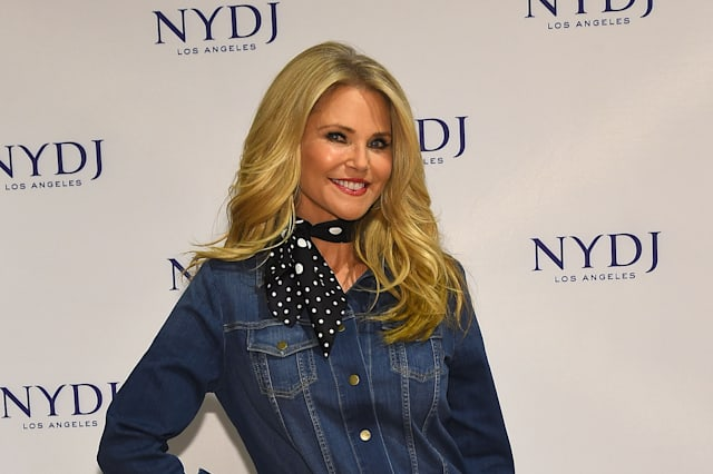 Christie Brinkley hoses down woman urinating outside her house