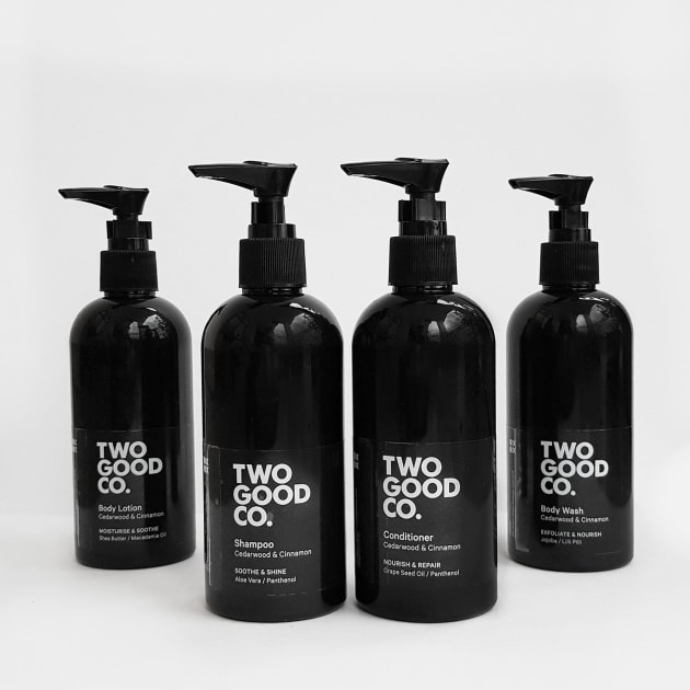 The natural products have been lovingly made in collaboration with Nourished