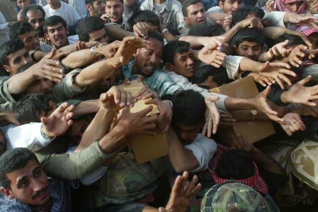 Iraq War humanitarian aid