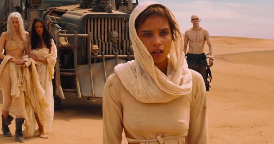 Zoe Kravitz Recalls Charlize Theron & Tom Hardy 'Beef' on 'Mad Max' Set