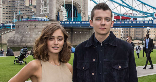 Ella Purnell dating Asa Butterfield  source:moviefone.com
