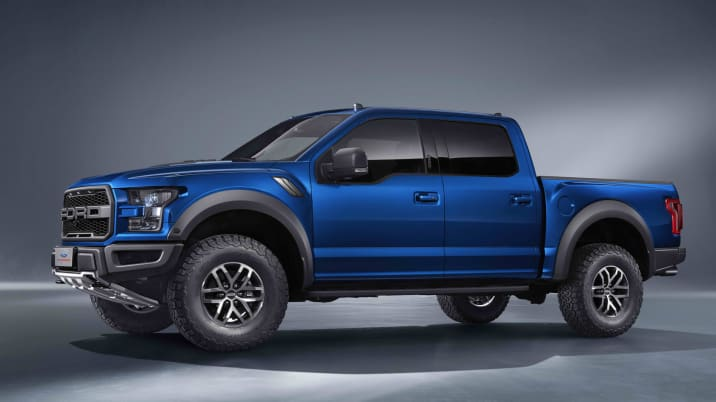 Ford F-150 SVT Raptor Chinese Market