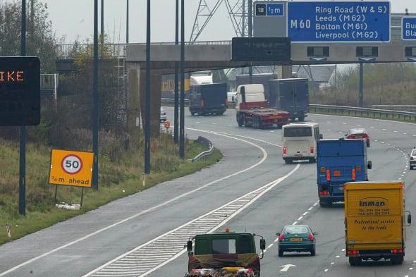 Motorways - slow - fire strike