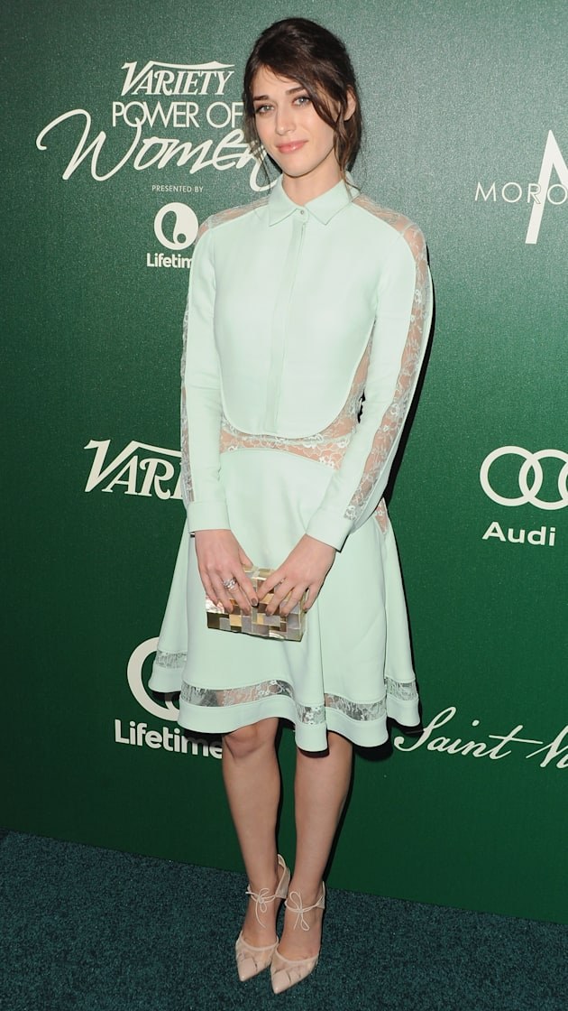 Lizzy Caplan at Variety's 2014 Power Of Women Event
