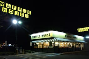 The Waffle House restaurant chain in Winston-Salem, North Ca