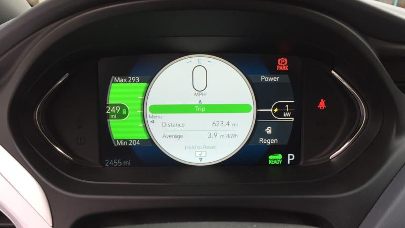 2017 Chevrolet Bolt EV instrument panel
