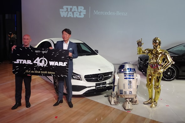 Mercedes-Benz CLA 180 STAR WARS Edition