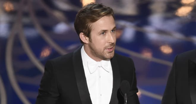 Ryan Gosling Reveals Awkward Moment With Chris Rock at 2016 Oscars