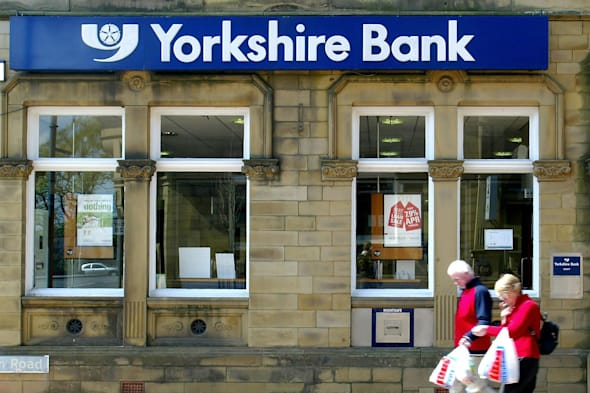 File photo dated 11/05/05 of a branch of the Yorkshire Bank as Clydesdale and Yorkshire Banks are to close 28