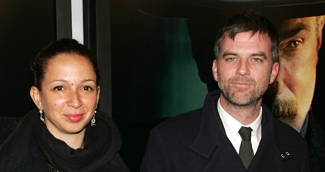 Maya Rudolph and Paul Thomas Anderson at the Premiere of 'There Will Be Blood' on December 10, 2007