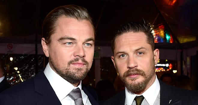 Tom Hardy Getting Terrible Tattoo After Losing Bet to Leonardo DiCaprio